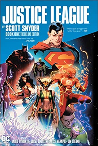 Justice League by Scott Snyder Book One Deluxe Edition  - Hardcover