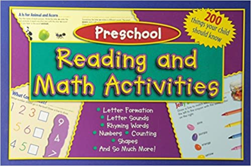 Kids Wide Activity Pad - Preschool: Reading and Math Activities