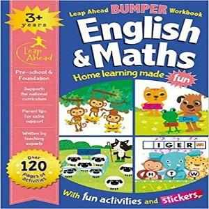 Leap Ahead Bumper Workbook: 3 Years English and Maths