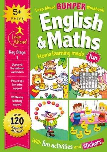 Leap Ahead Bumper Workbook: 5 Years English and Maths - (PB)