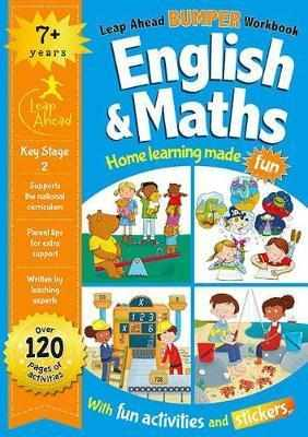 Leap Ahead Bumper Workbook: 7 Years English and Maths