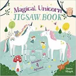 Magical Unicorn Jigsaw Book - Hardcover
