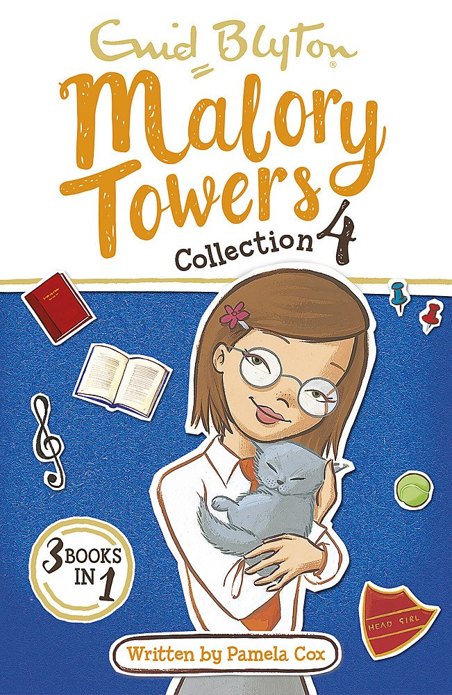 Malory Towers Collection 4: Books 10-12 (Malory Towers Collections and Gift books) - Paperback
