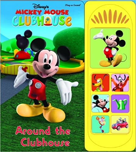 Mickey Mouse Clubhouse (Play-A-Sound) - Board book