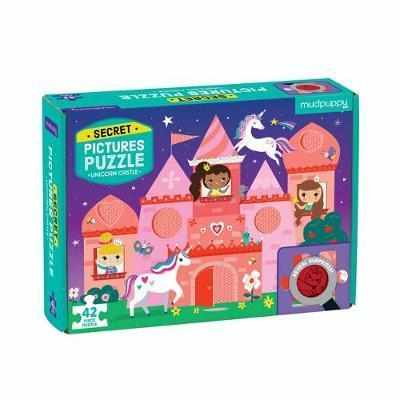 Mudpuppy Unicorn Castle Secret Pictures Puzzle