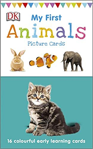 My First Animals (My First Touch and Feel Picture Cards) - (Cards)