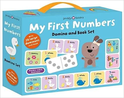 My First Numbers Domino & Book Set (My First Box Sets)  - Hardcover