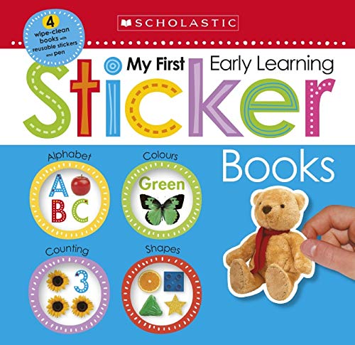 My First Sticker Box (Scholastic Early Learners) Paperback