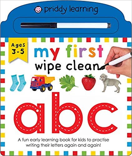 My First Wipe Clean ABC  - Hardcover