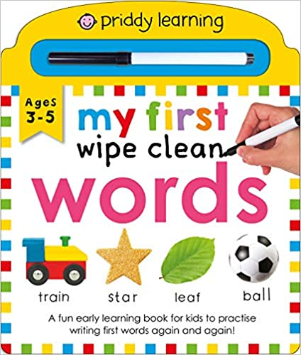 My First Wipe Clean Words Board book