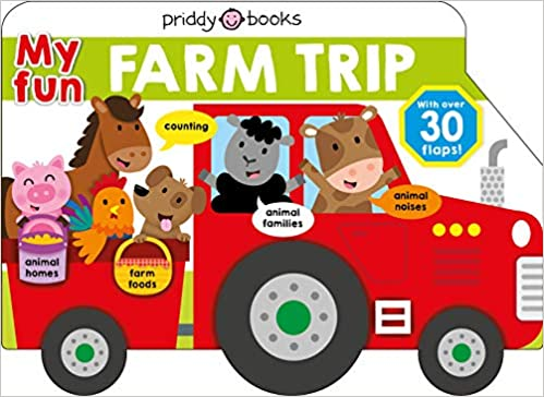 My Fun Farm Trip  - Hardcover