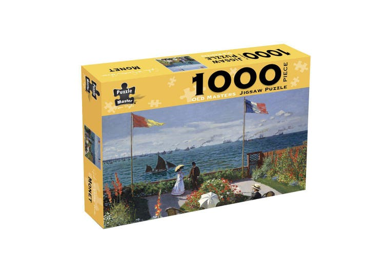 Old Master - Monet Garden At Sainte Adresse - (Box)