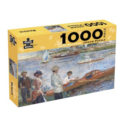 Old Master - Renoir Oarsman At Chatou - (Box)