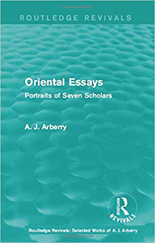 Oriental Essays - Potriat Of Seven Scholars - HB