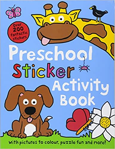 Preschool Sticker Activity Book : Preschool  Sticker Books