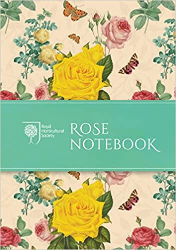 RHS Rose Notebook (Stationery) Diary