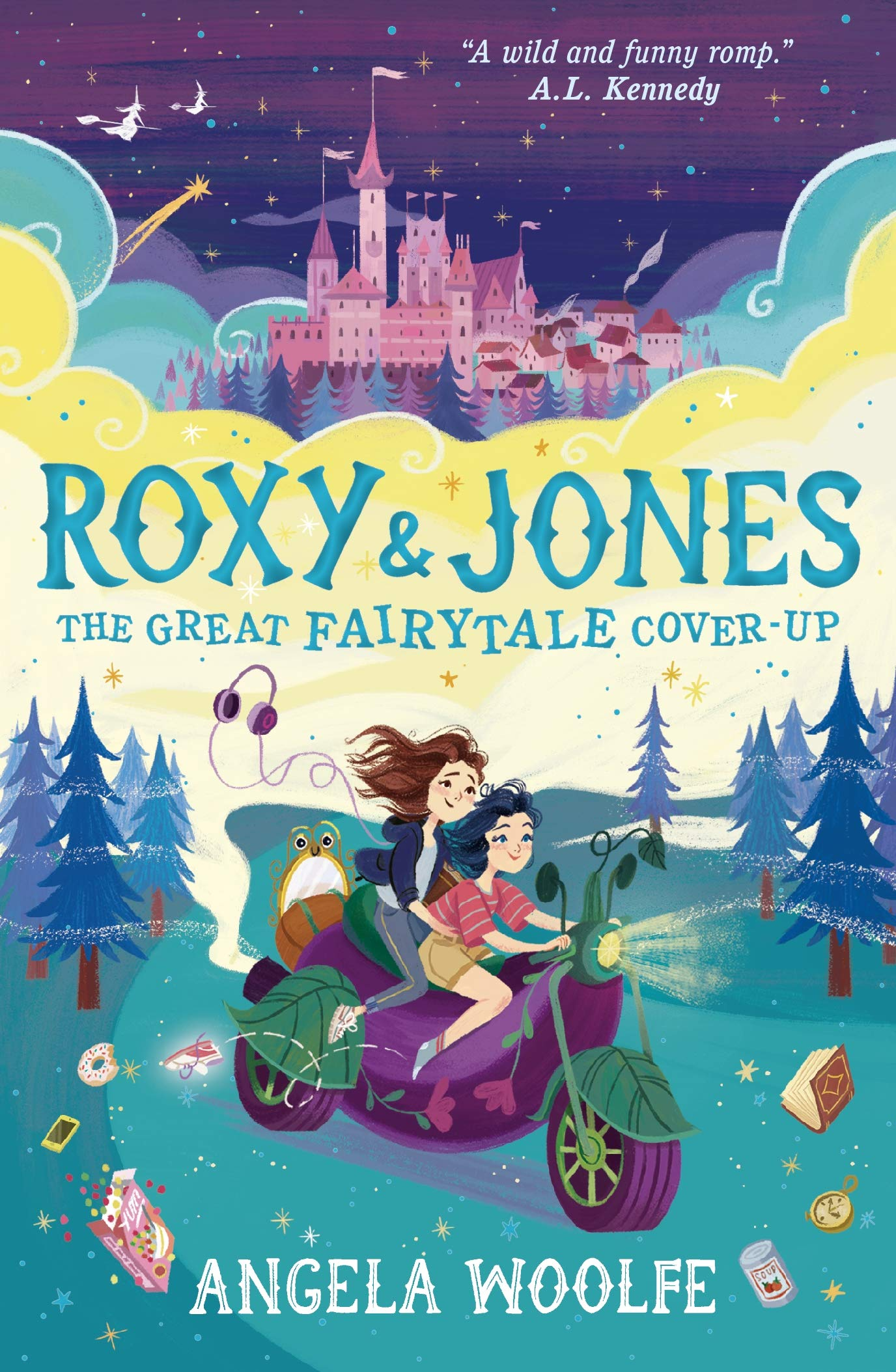 Roxy & Jones: The Great Fairytale Cover-Up  -  Paperback