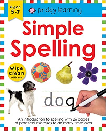 Simple Spelling (Wipe Clean Workbooks)  - Paperback