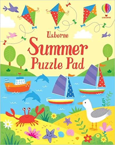 Summer Puzzle Pad (Puzzle Pads)  - Paperback