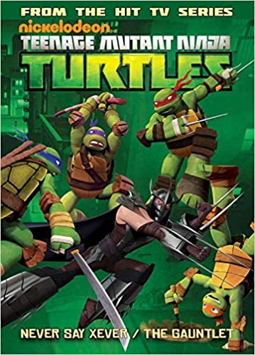 Teenage Mutant Ninja Turtles Animated Volume 2: Never Say Xever / The Gauntlet (Tmnt Animated Adaptation) - Paperback