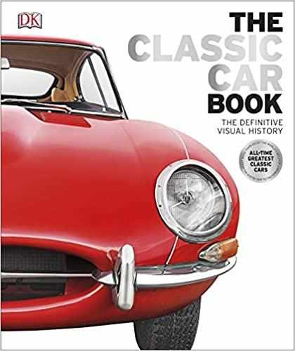 The Classic Car Book: The Definitive Visual History Hardcover