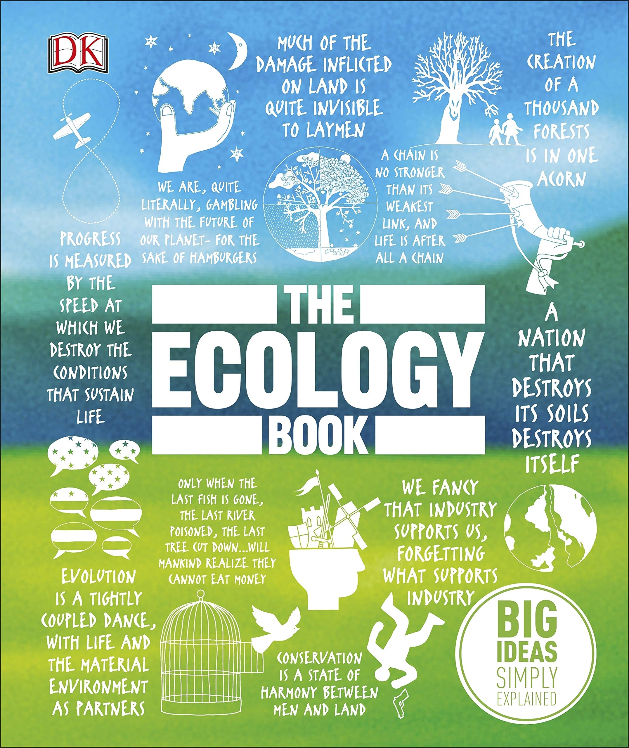 The Ecology Book: Big Ideas Simply Explained (HB)