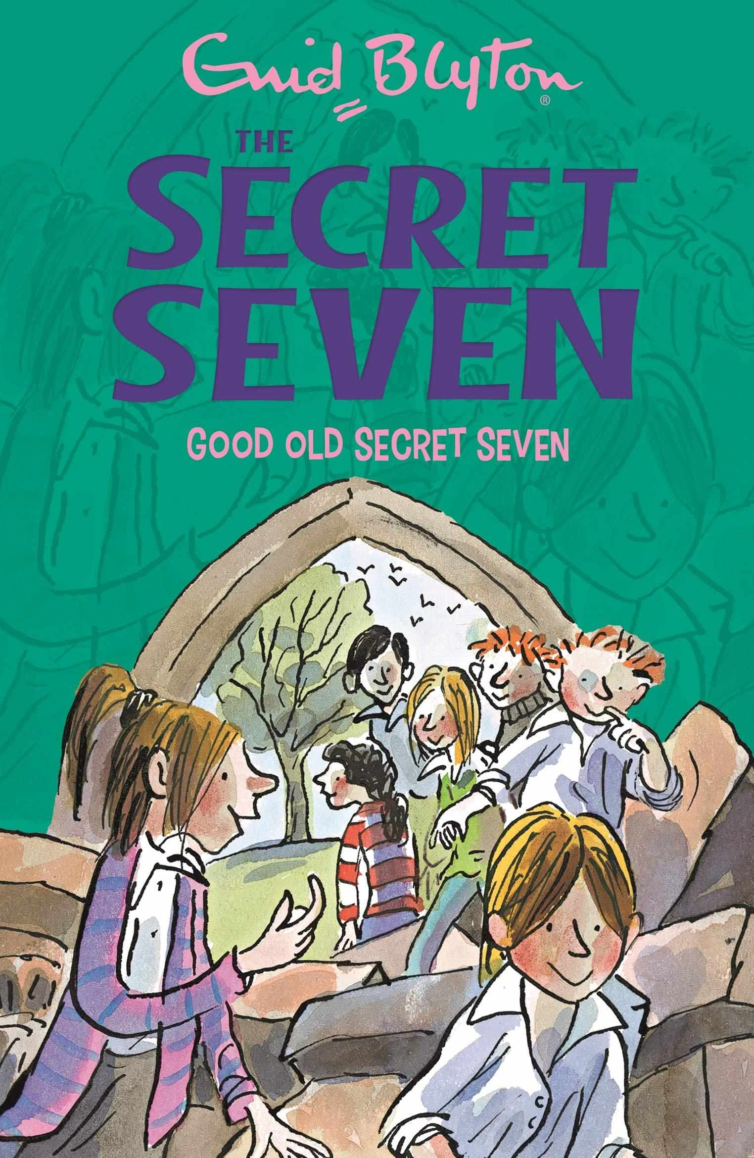 The Secret Seven # 12:  Good Old Secret Seven - (PB)