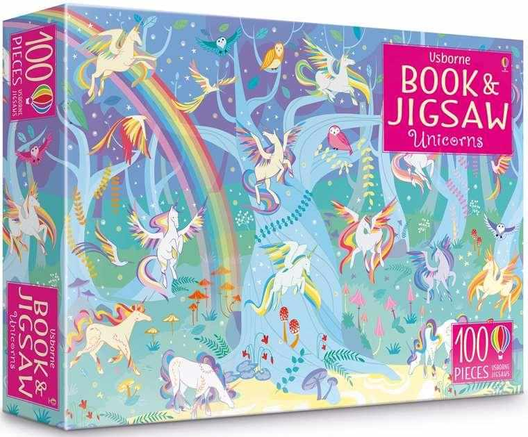 Unicorns (usborne Book And Jigsaw)