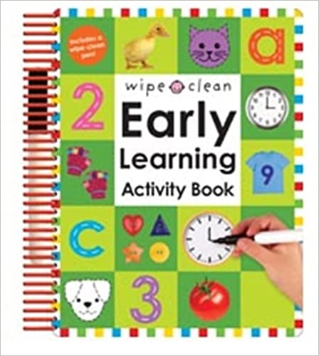 Wipe Clean Early Learning Activity Book