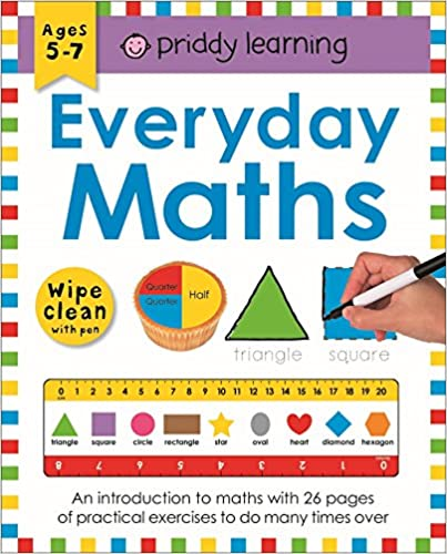 Wipe Clean Workbook Everyday Maths Paperback