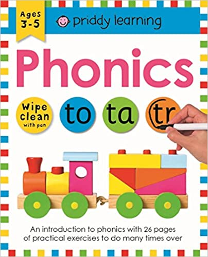 Wipe Clean Workbook Phonics  - Paperback