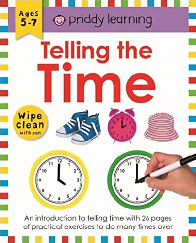 Wipe Clean Workbook Telling The Time - Paperback