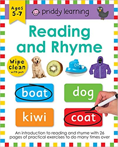 Wipe Clean Workbooks Reading & Rhyme