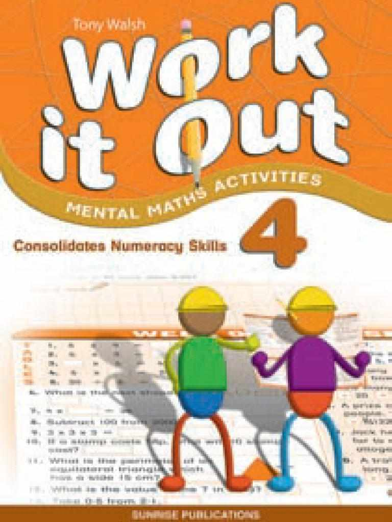 Work It Out Mental Maths Activities Book 4