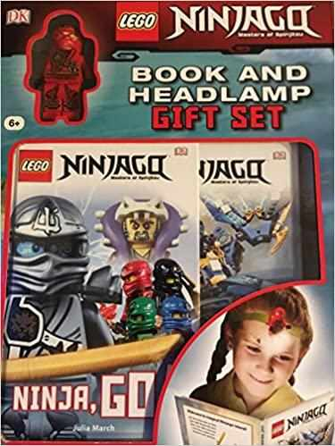 lego Ninjago book and headlamp Gift Set  - Hardcover Comic