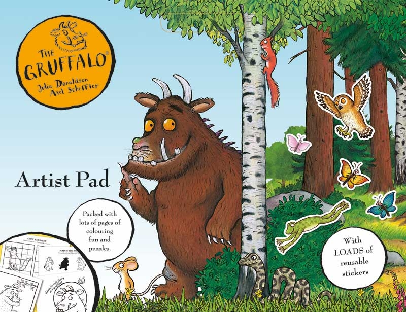 THE GRUFFALO ARTIST PAD