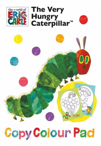 The Very Hungry Caterpillar Copy Colour Pad - (PB)
