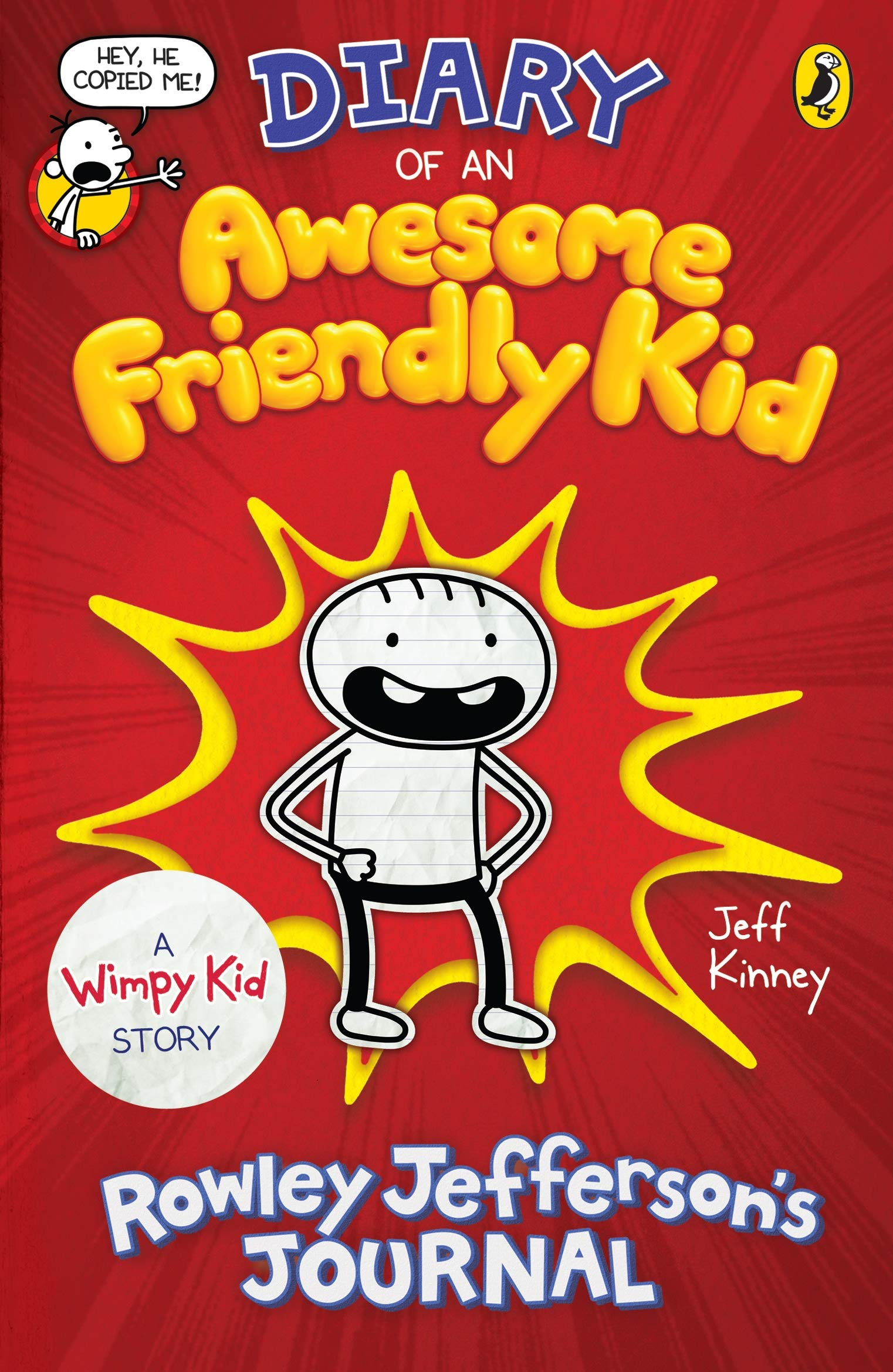 Diary of an Awesome Friendly Kid : Rowley Jefferson's Journal - (PB)