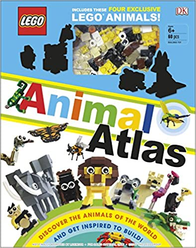 LEGO Animal Atlas: with four exclusive animal models - (HB)