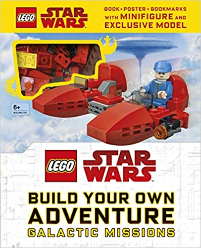 LEGO Star Wars Build Your Own Adventure Galactic Missions - (HB)