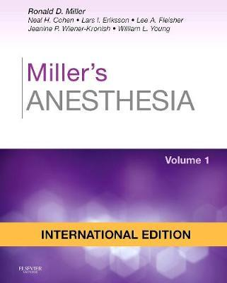 Millers Anesthesia 2Vol Set  -  (HB)