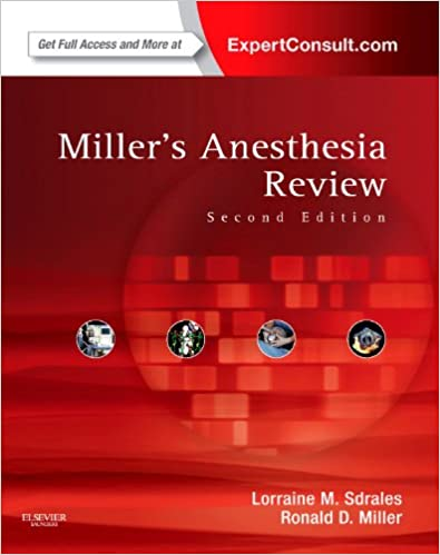Millers Anesthesia Review 2nd ED - (PB)