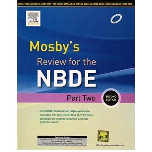 Mosbys Review For the NBDE Part Two 2nd Edition (PB)