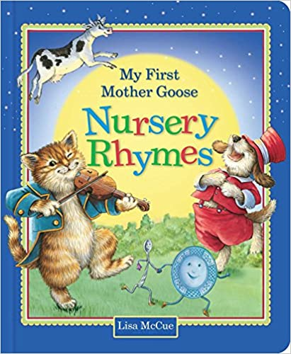 My First Mother Goose Nursery Rhymes - (BB)