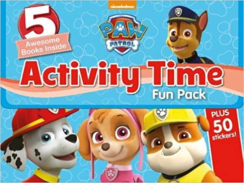 Nickelodeon PAW Patrol Activity Time Fun Pack