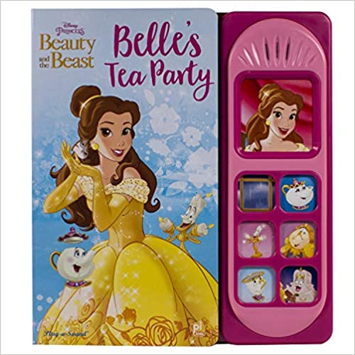 Princess Belle Little Sound Book (hardcover)