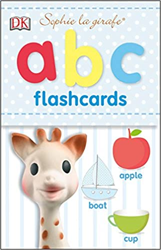 Sophie la Girafe ABC Flashcards - (BB)