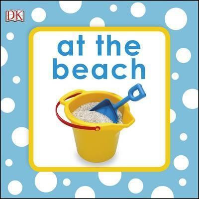 Squeaky Baby Bath Book At The Beach - (Bath Book)