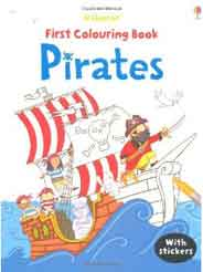 Pirates (Usborne First Colouring Books) (First Colouring Books with stickers)
