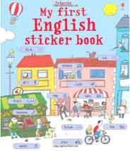 My First English Sticker Book My First Sticker Book